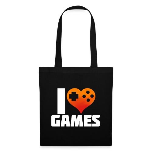 I <3 Games - Stoffbeutel