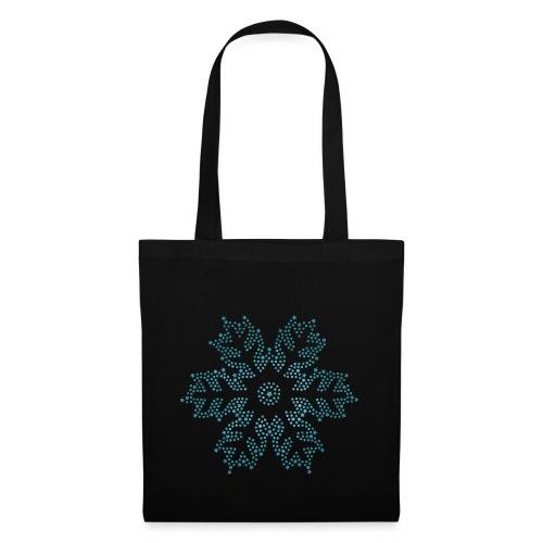 Schnee Stern, Weihnachten - Stoffbeutel