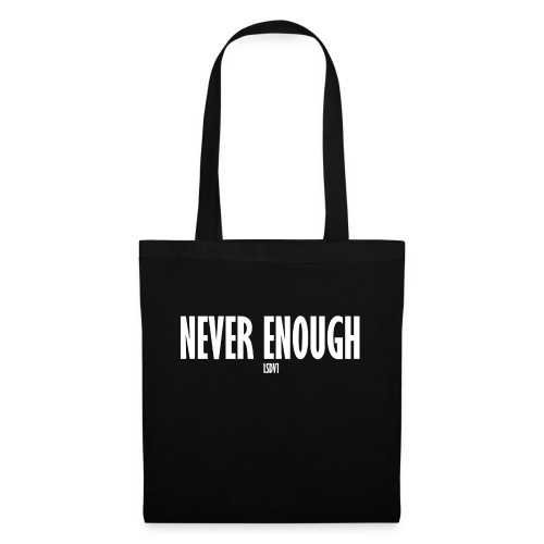 Le Son Des Villes : Never Enough [LSDV] - Sac en tissu