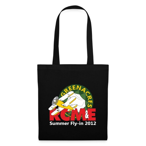 RCME Greenacres 2012 Fly In white txt - Tote Bag