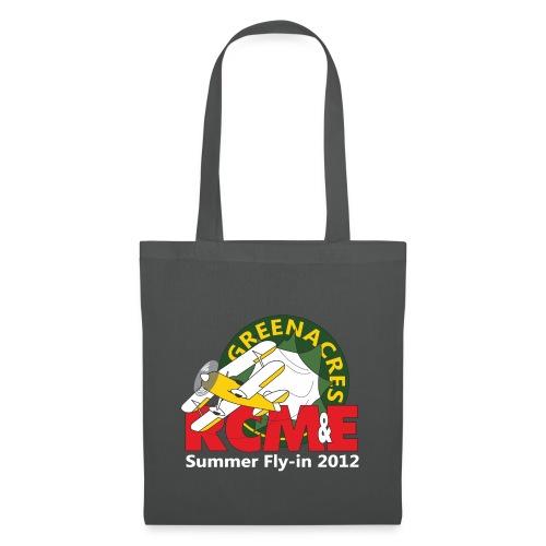 RCME Greenacres 2012 Fly In white txt - Tote Bag