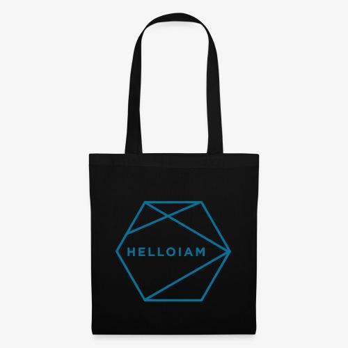helloiam outline - Stoffbeutel