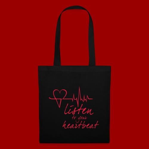 Heartleader_T-Shirt_Font - Stoffbeutel