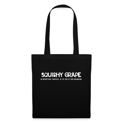 Squishy Grape: An Impenetrable Forcefield - Tote Bag