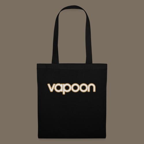 Vapoon Logo simpel 2 Farb - Stoffbeutel