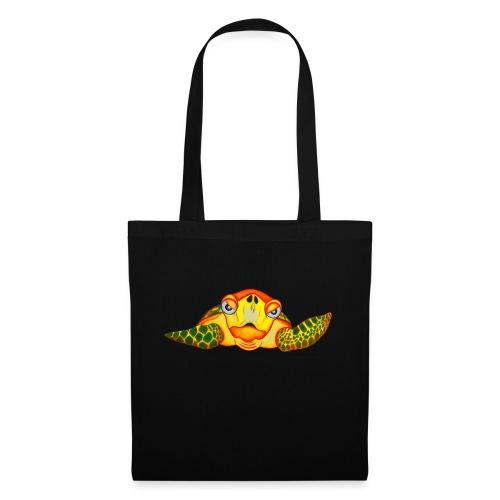 Angry Turtle Fluo - Sac en tissu
