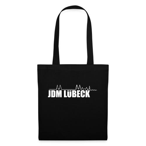 JDM Lübeck Weiß png - Stoffbeutel
