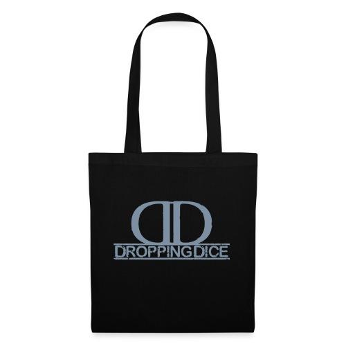 Dropping Dice Logo + Typo - Stoffbeutel