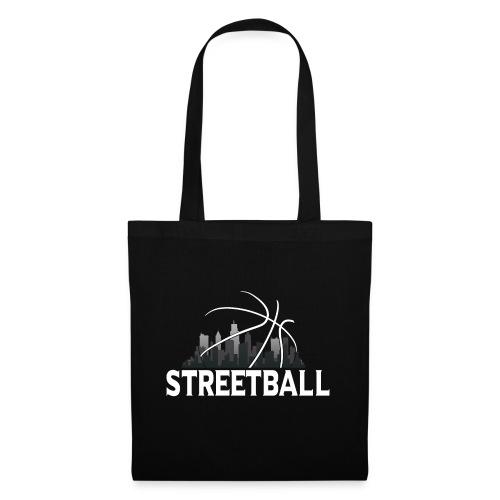 Streetball Skyline - Street basketball - Tote Bag