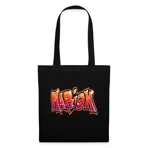 Graffiti Tag prenom name MARION - Tote Bag