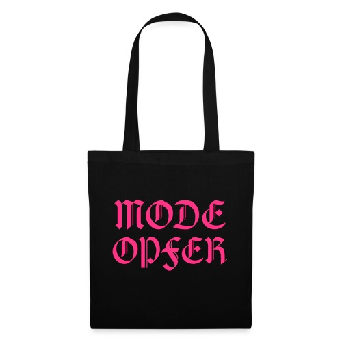 Mode Opfer - Fashion Shopping Queen - Stoffbeutel