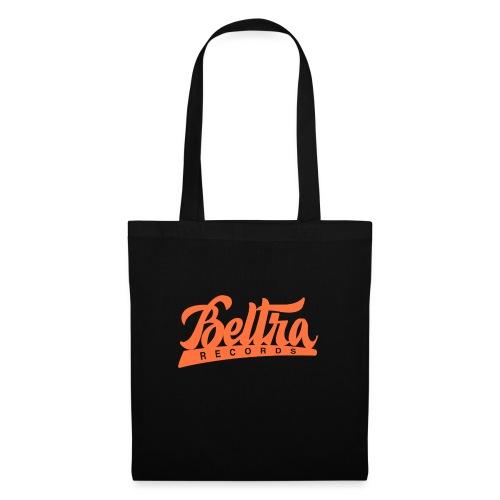 Beltra Records - sunny orange - Borsa di stoffa