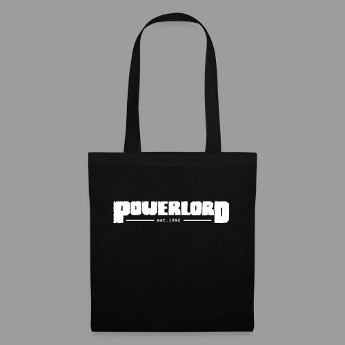 Powerlord Schriftzug est.1992 - Stoffbeutel