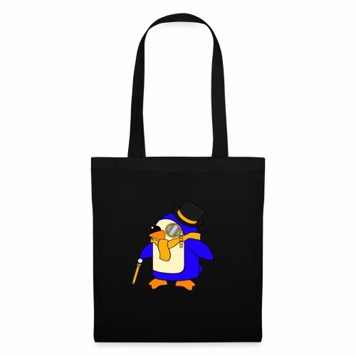 Cute Posh Sunny Yellow Penguin - Tote Bag