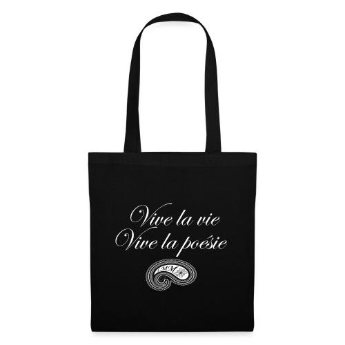 Vive la poésie white png - Tote Bag