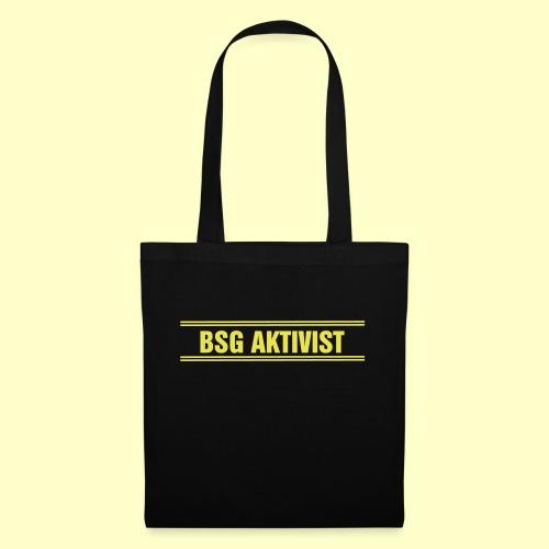 BSG Aktivist Schriftzug - Stoffbeutel