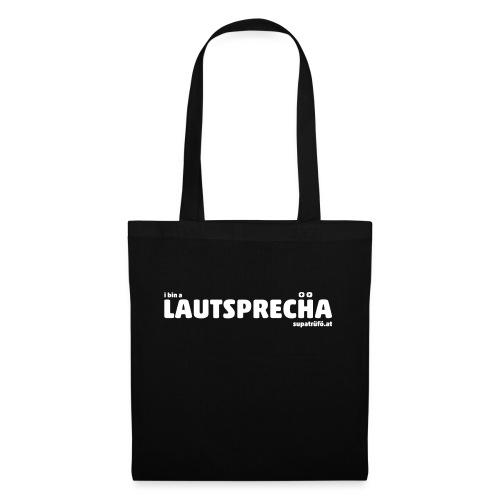 supatrüfö LAUDSPRECHA - Stoffbeutel
