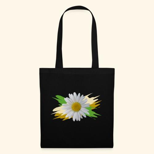 Margeriten Blüte, Blumen, floral, Gänseblümchen - Stoffbeutel