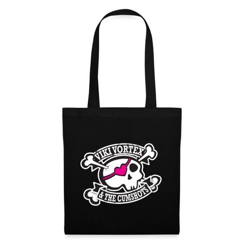 vvcumshotslogo2012whiteoutline - Tote Bag