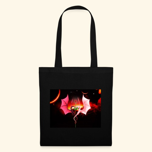 Dragon Rose of Love - Tote Bag