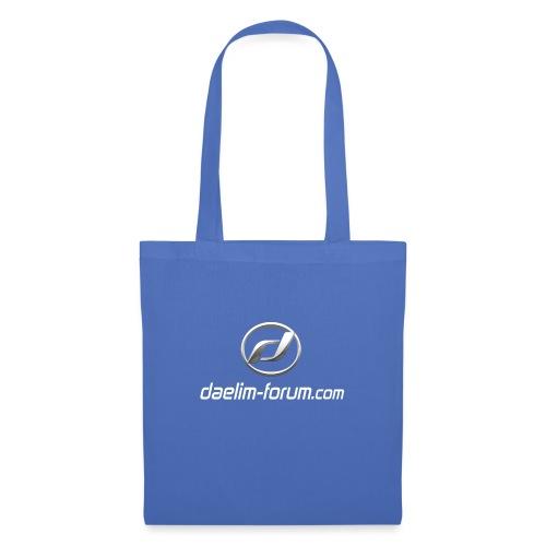 Daelim Logo und URL Taschen & Rucksäcke - Stoffbeutel