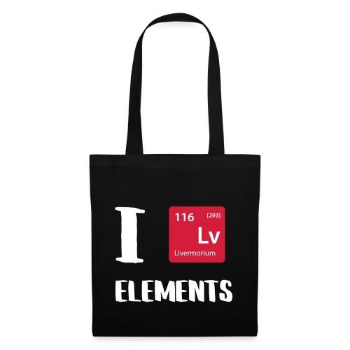 I love Elements - Stoffbeutel