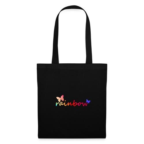 Regenbogen - rainbow - Stoffbeutel