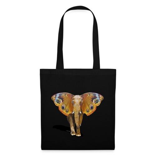 Schmetterling-Elefant - Stoffbeutel