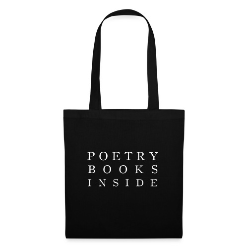 Poetry Books Inside 2 - Tote Bag