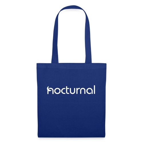 Nocturnal White - Tote Bag