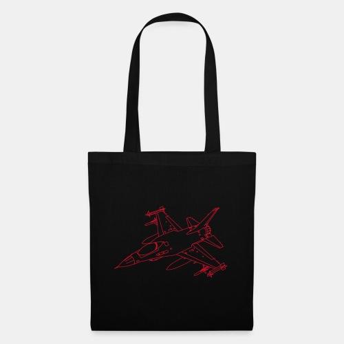 F-16 Viper / Fighting Falcon jet fighter / F16 - Tote Bag