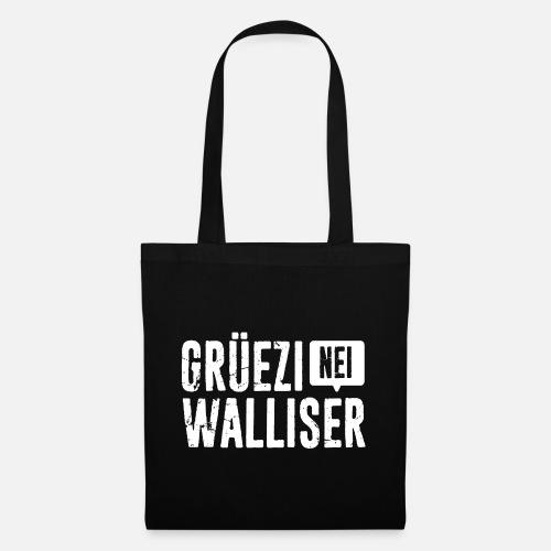 Grüezi – Nei, Walliser - Stoffbeutel