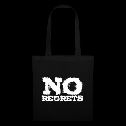 NO REGRETS Transparent - Stoffbeutel
