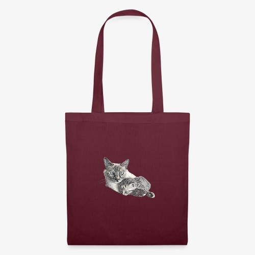 Snow and her baby - Tote Bag