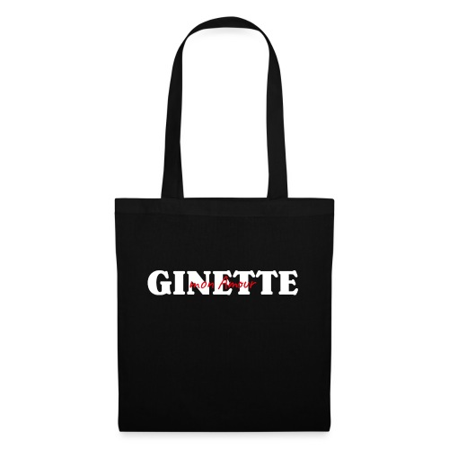Ginette mon Amour - Sac en tissu