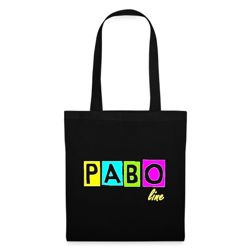 pabo line 4 color - Stoffbeutel
