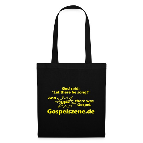 and bang there was gospel - Stoffbeutel