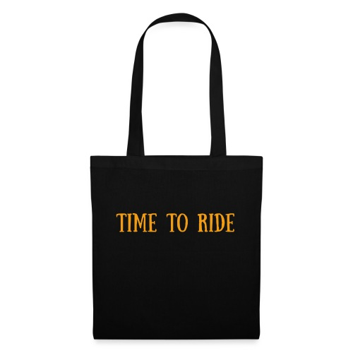 TIME TO RIDE - Tote Bag