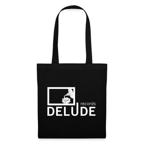 Delude Records Label Logo - Stoffbeutel