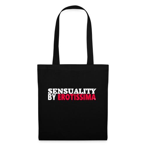 Logo Erotissima | white & Pink - Tote Bag