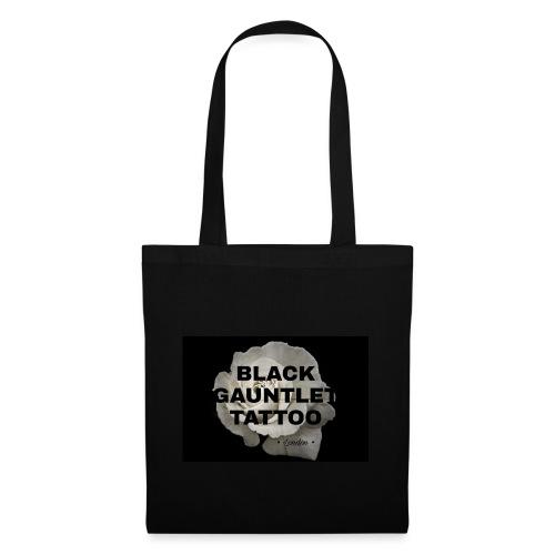 Black Gauntlet - White Rose - Tote Bag