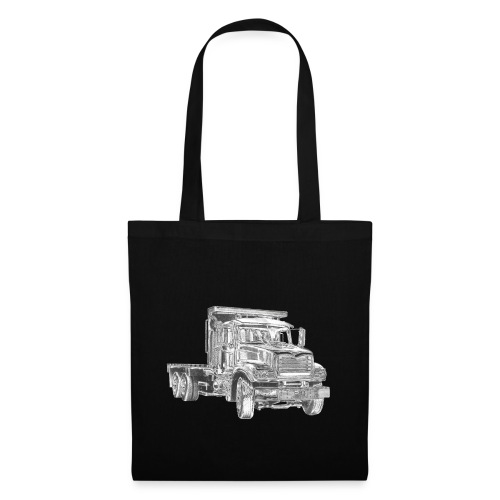 Flatbed Truck 3-axle - Tote Bag