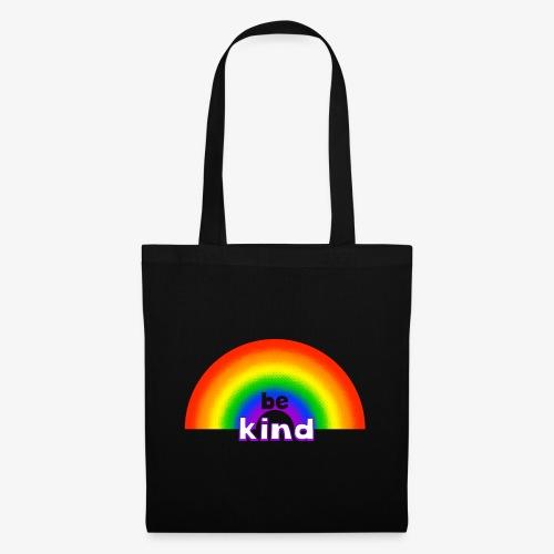 Be Kind Rainbow Regenbogen Farben - Stoffbeutel