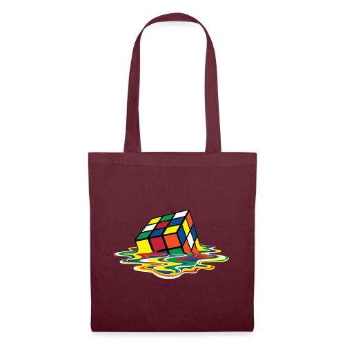 Rubik's Cube Melting Cube - Tote Bag