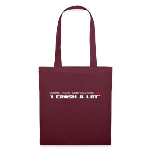 I CRASH A LOT - Tote Bag