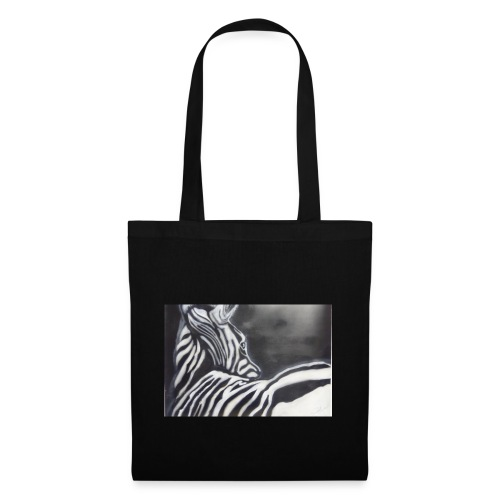 creation zebre fait main - Sac en tissu