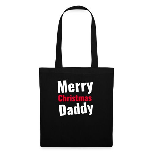 Merry Christmas Daddy - Stoffbeutel
