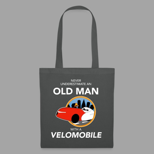 Never underestimate an old man with a velomobile - Kangaskassi