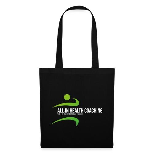 All-in Health Coaching logo - Tas van stof