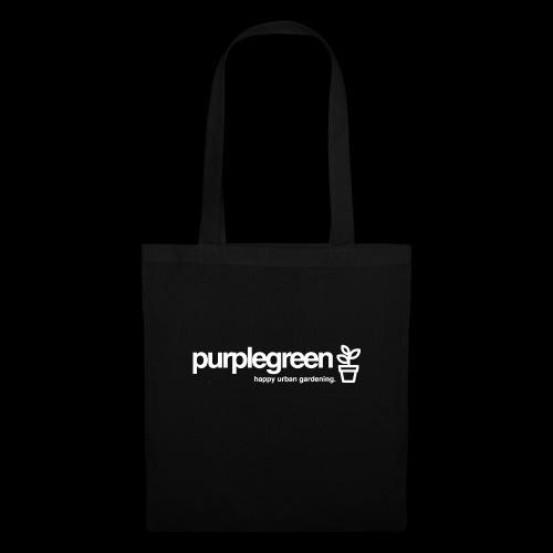 purplegreen classic - Stoffbeutel